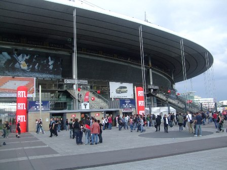 The Stade de France before AC/DC's show
