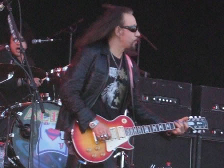 Ace Frehley at Sweden Rock Festival 2008