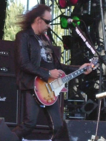 Ace Frehley live at Sweden Rock Festival, Sweden, June 2008