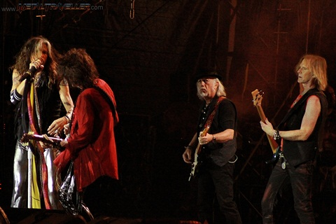 Hellfest: Aerosmith live in Clisson