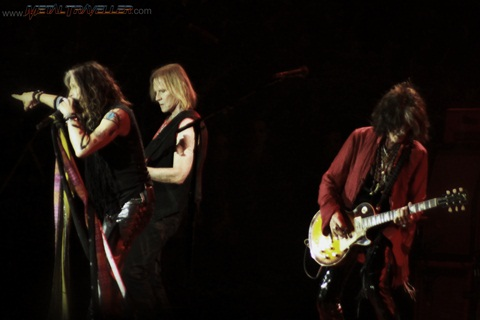 Aerosmith live in Clisson