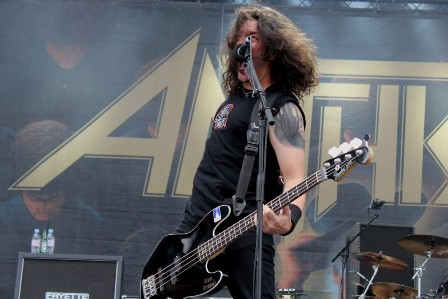 Frank Bello's birthday - Sonisphere France Festival