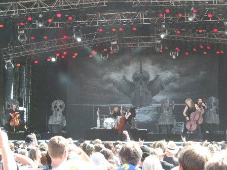 Apocalyptica Live at the Sweden Rock Festival 2008