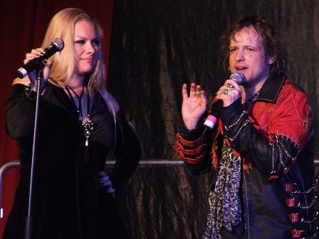 Amanda Somerville and Tobias Sammet - Avantasia live in Kaufbeuren