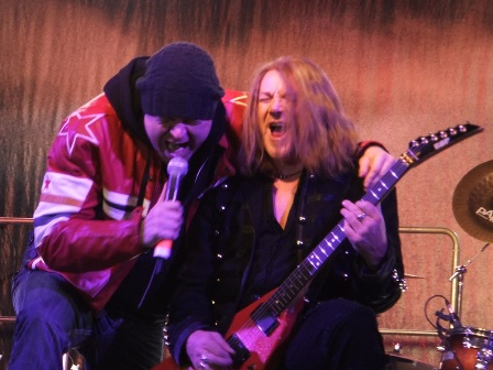 Michael Kiske and Kai Hansen - The last time this happened was a long time ago... Thanks Avantasia for bringing back those memories from the Helloween Keeper Of The Seven Keys days!