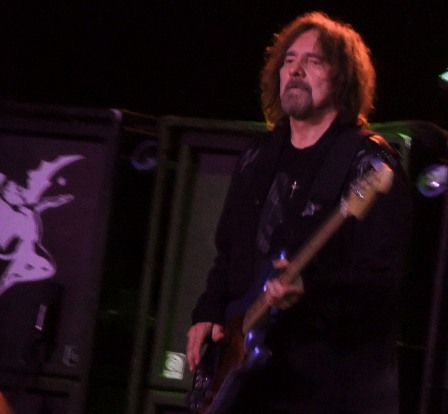 Geezer Butler in Birmingham, live wiith Black Sabbath