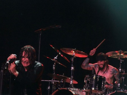 Ozzy Osbourne and Tommy Clufetos - Black Sabbath in Birmingham