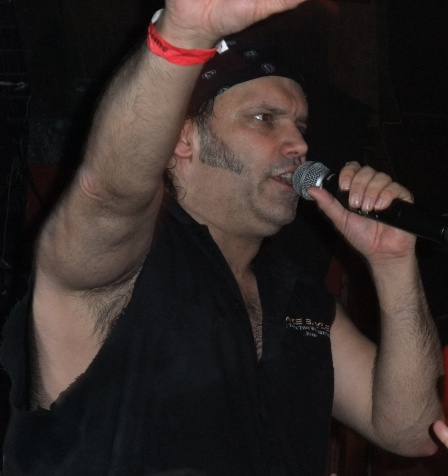 Blaze Bayley singing
