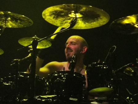Frederik Ehmke from Blind Guardian live in Paris