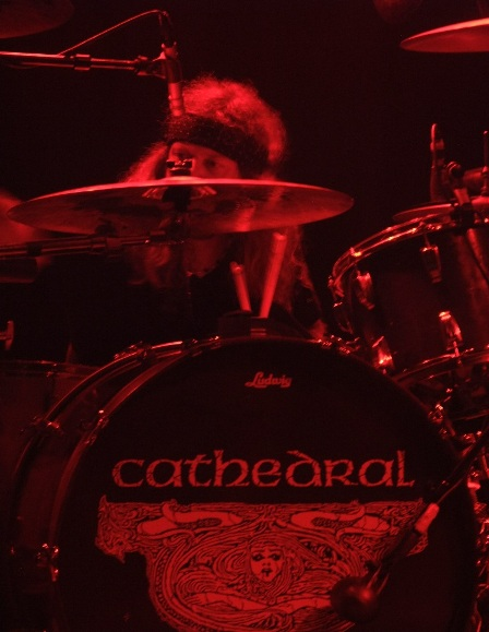 Brian Dixon on drums - Cathedral in Paris