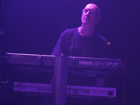Keyboard player for from Cathedral live in Paris