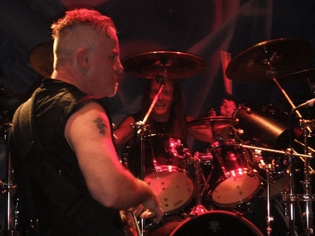 Jeff Lords and Dana Burnell from Crimson Glory