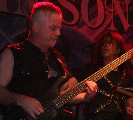 Jeff Lords and Todd La Torre from Crimson Glory