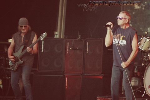 Ian Gillan and Roger Glover - Deep Purple live in Clisson