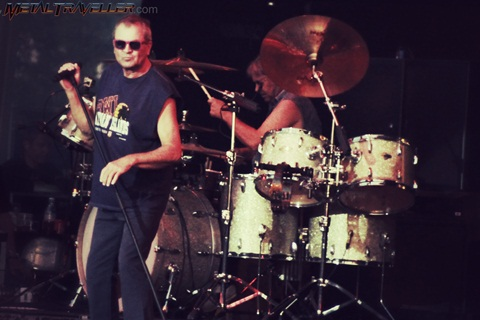 Ian Gillan and Ian Paice from Deep Purple live in Clisson