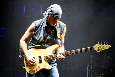 Roger Glover with Deep Purple in Paris