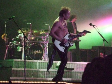 Phill Collen from Def Leppard at Sweden Rock Festival 2008