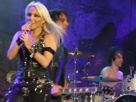 Doro at the Wacken Open Air Festival Germany
