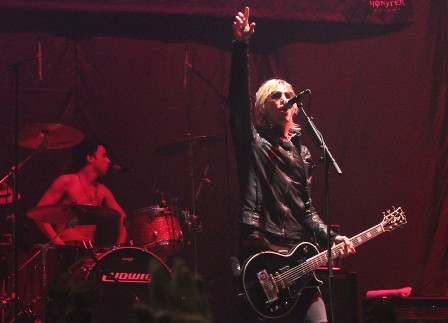 Issac Carpenter and Duff McKagan