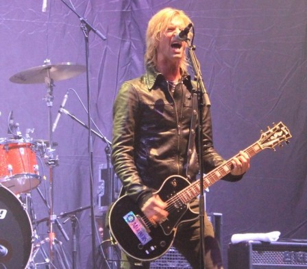Duff McKagan live at the Zénith in Paris, France