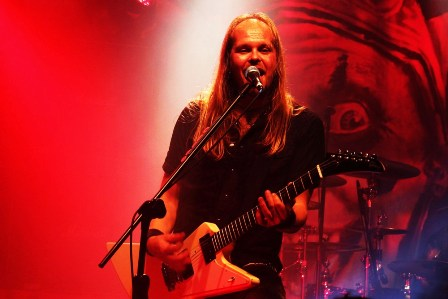 Dirk Sauer with Edguy at the Bataclan in Paris, France