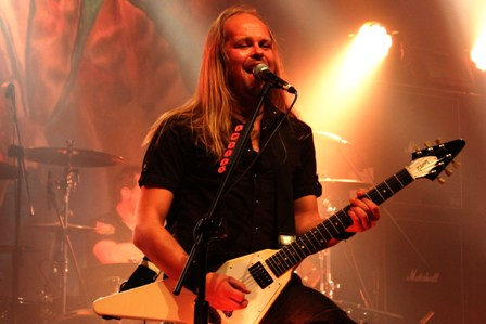 Dirk Sauer at the Bataclan in Paris, live with Edguy