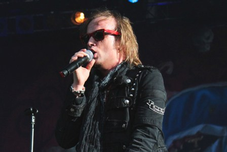 Tobias Sammet at the Hellfest with Edguy