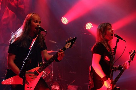 Dirk Sauer and Tobias Exxel live with Edguy