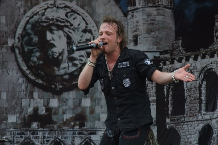 Tobias Sammet  - Edguy live at the Gods Of Metal in Monza 2009