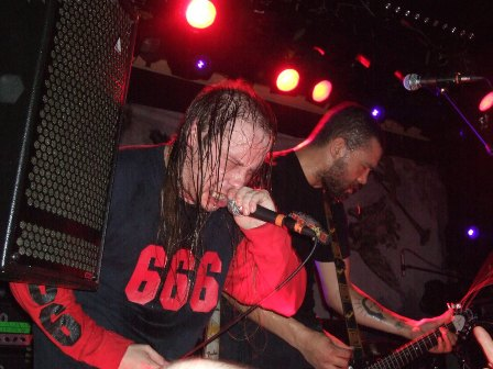 LG Petrov and Alex Hellid from Entombed