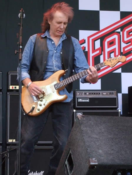 Fast Eddie Clarke live at Sweden Rock Festival 2008