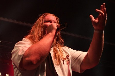 Russ Anderson at the Alcatraz Metal Festival, live with Forbidden