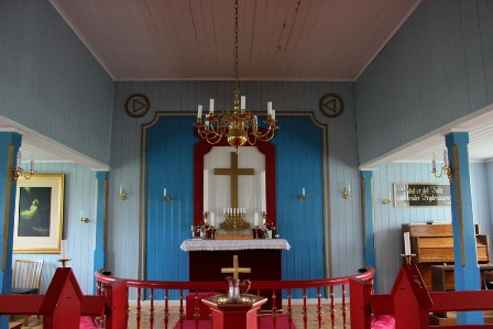 Altar of the Igaliko church