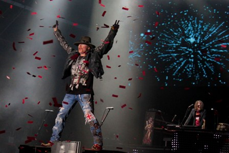 Thank you Hellfest! Guns'n'Roses live in Clisson