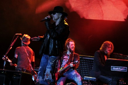 Guns'n'Roses live at Hellfest