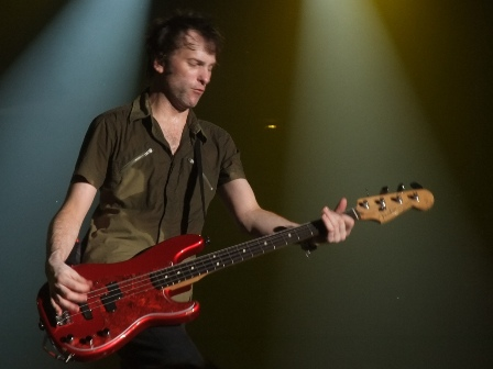 Tommy Stinson from Guns'n'Roses