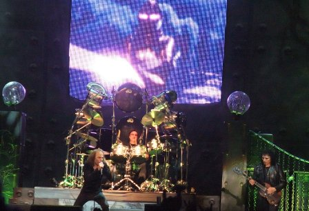 Ronnie James Dio and Vinny Appice live in Milan 2009