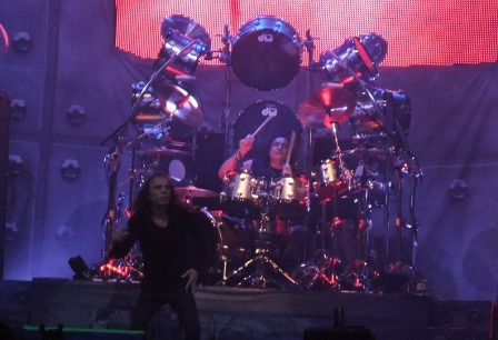Ronnie James Dio with Heaven And Hell in Milan