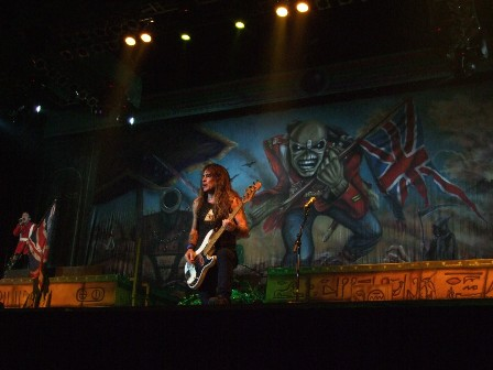 The Trooper: Bruce Dickinson and Steve Harris - Iron Maiden in Belgrade Arena, Serbia - February 10 2009