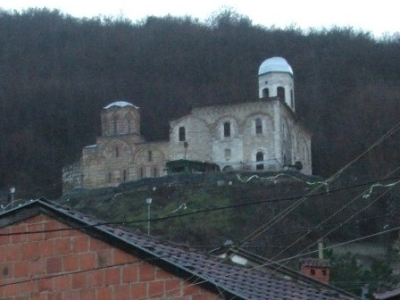 XIVth Century Church Of St Saviour, destroyed in 2008 - Prizren, Kosovo