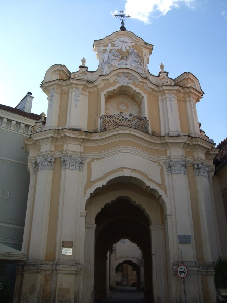 The gates of the Church Of the Holy Trinity, Vilnius