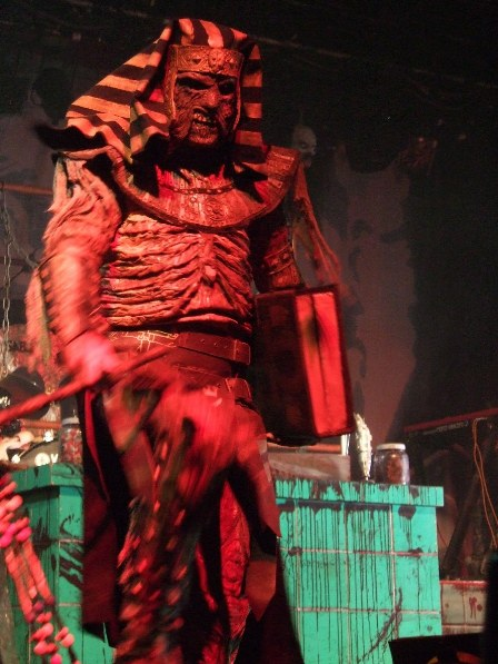 Amen the Egyptian Mummy from Lordi