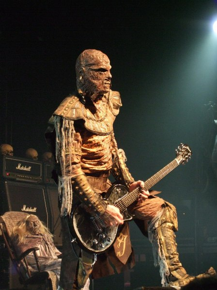 Amen from Lordi live in  Paris, France - February 18 2009