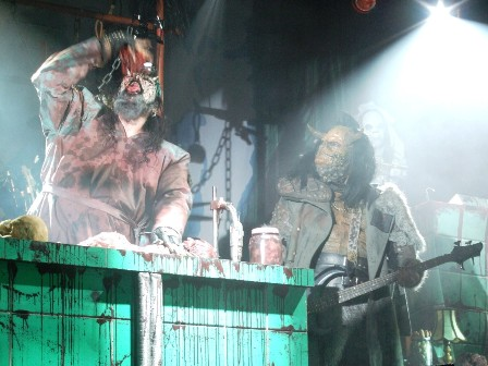 Don't call the doctor - Lordi live in  Paris, France - February 18 2009