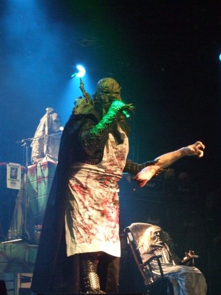 Lordi live in Paris, France - February 18 2009