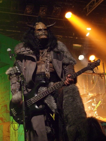 OX from Lordi live in  Paris, France - February 18 2009