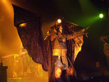 Devil is a Looser! Lordi live in Paris, february 2009