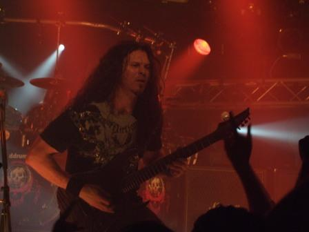 Chris Broderick of Megadeth in Luxemburg