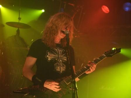 Dave Mustaine in Luxemburg, february 2008