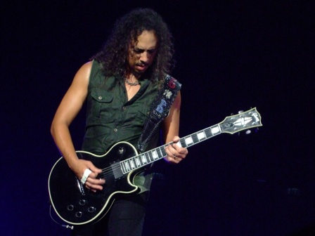 Kirk Hammett from Metallica in Vienna - May 14 2009